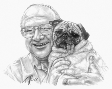 Bob & Lucy. 11x14