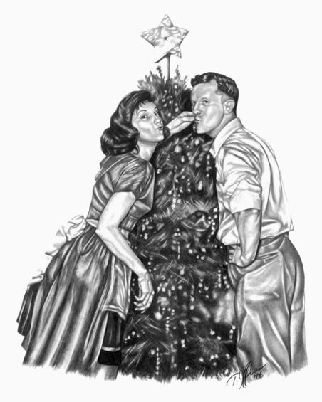 First Christmas. 14x17